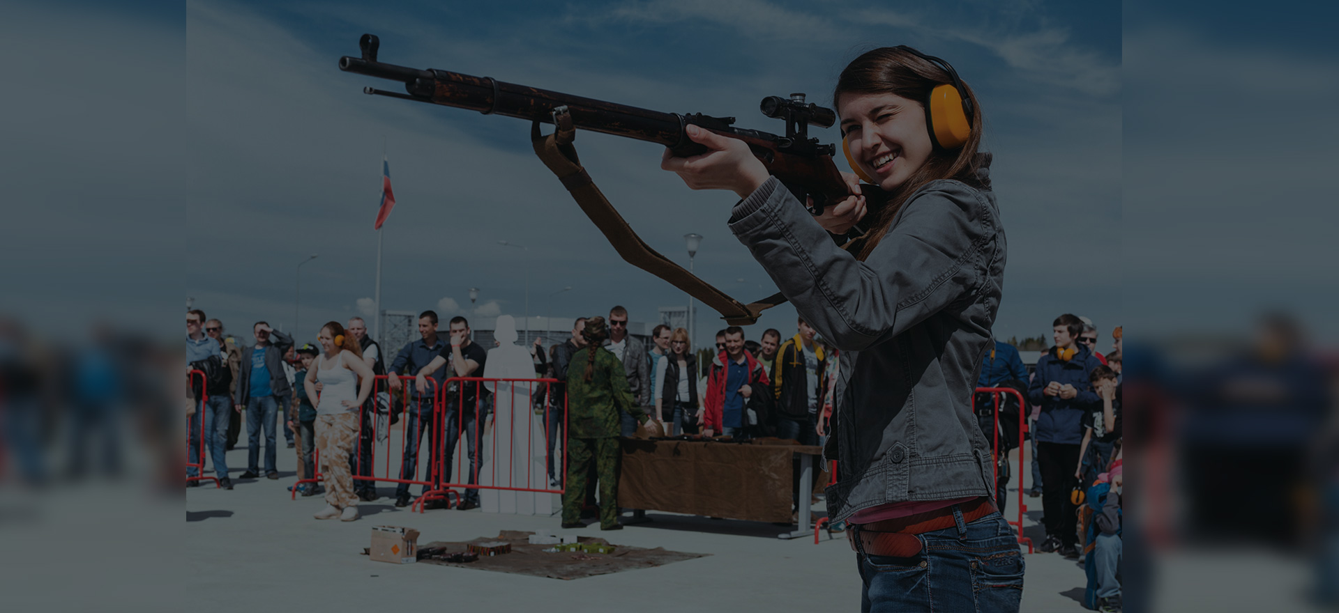 Тир с историческим оружием фото2